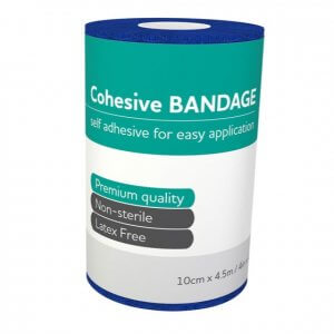 AeroBan Cohesive Bandages 10cm x 4.5m