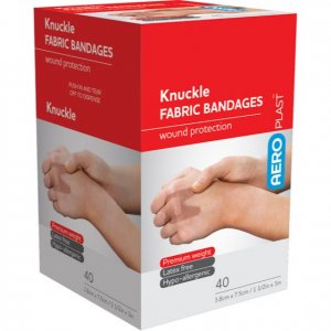AeroPlast Premium Fabric Bandages - Knuckle Dressings