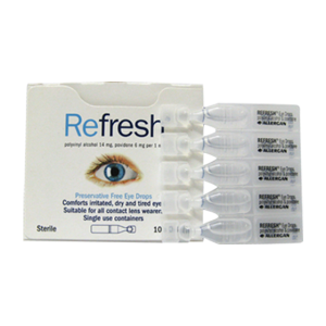 Refresh Eye Drops box/10