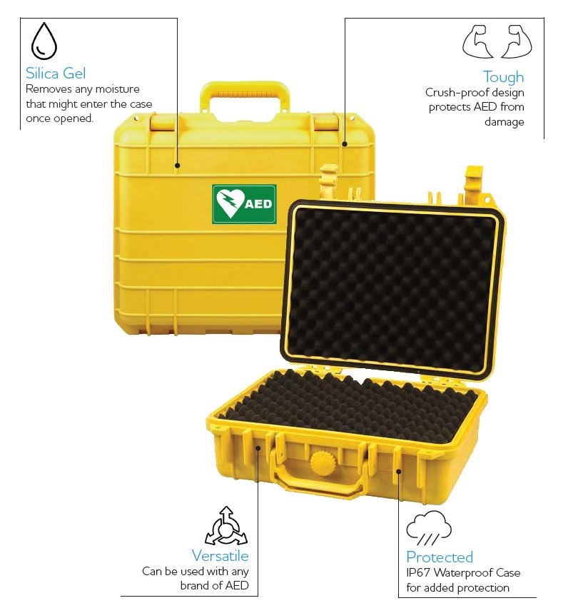 AED Waterproof Tough Case