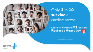 Advert for Restart a Heart Day with whitelabeling