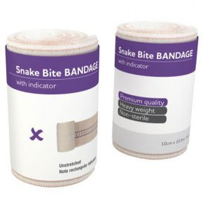 AeroForm Premium Snake Bite Bandages with Continuous Indicator - Short