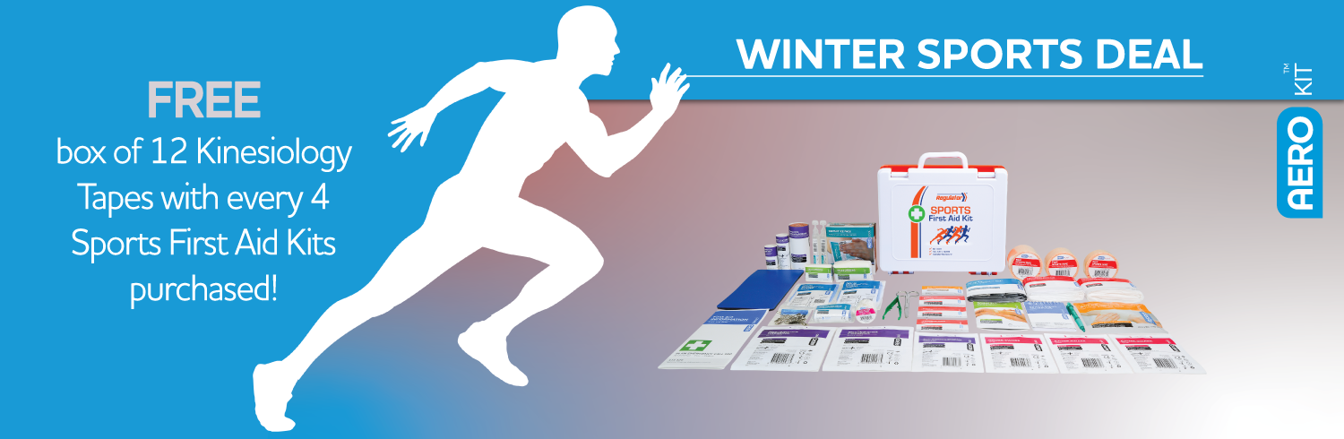Sports First Aid Kit Promotion Banner Image